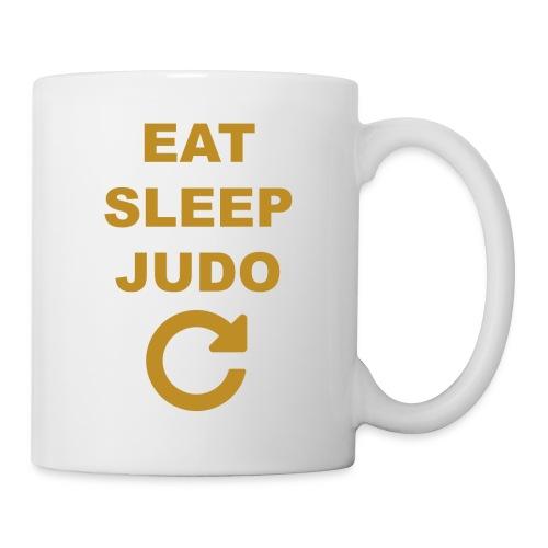 Eat sleep Judo repeat - Kubek