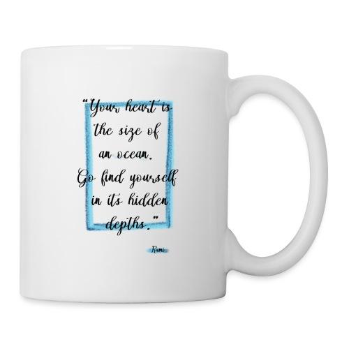 Frase motivazionale, citazione Rumi - Tazza