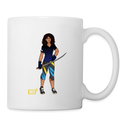 Sabre fencer - Mug