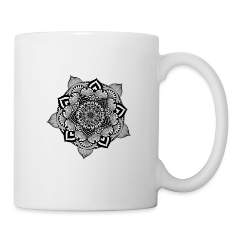mandala fiore di loto - Tazza
