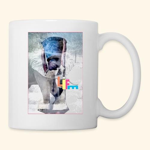 LIFE - Mug blanc