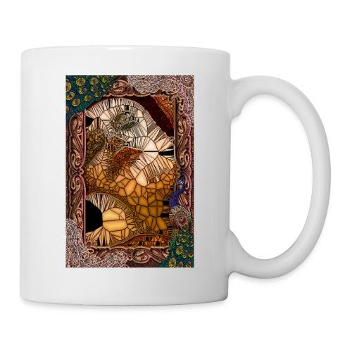 ephemeral vitrail new - Mug blanc