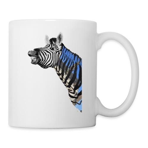 zebre un jour - Mug blanc
