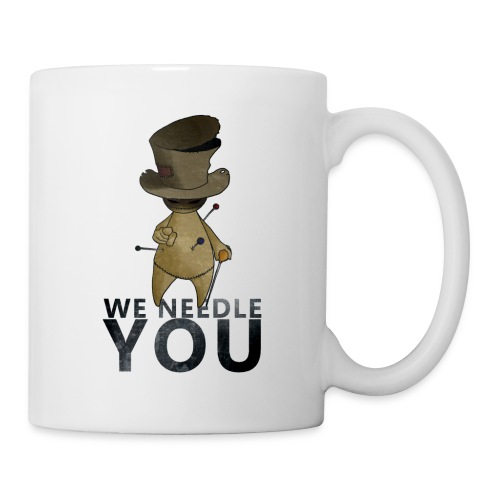 WE NEEDLE YOU - Mug blanc
