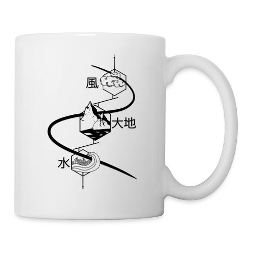Les 3 éléments - Mug blanc