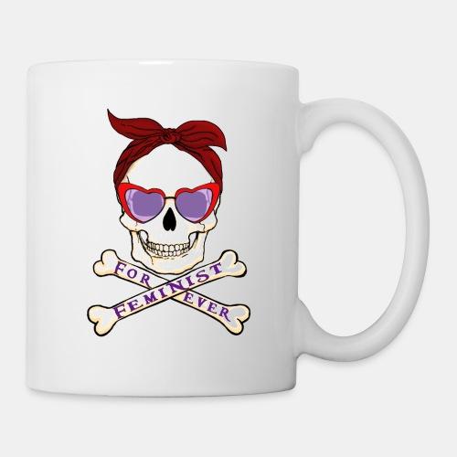 Feminist skull - Taza