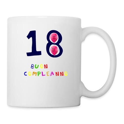 18 BUON compleanno - Tazza