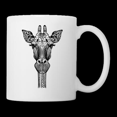 Mandala giraffe - Mug