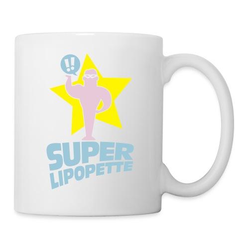 SUPER LIPOPETTE - Mug blanc