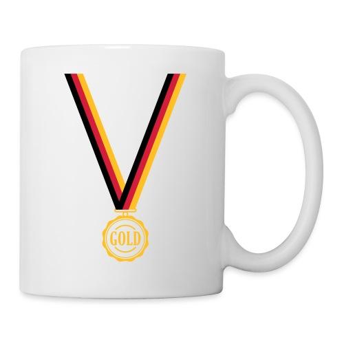 Goldmedaille Deutschland - Tasse