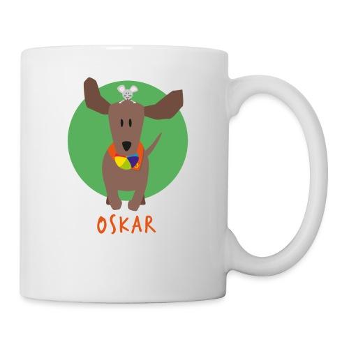 Dackel Oskar mit Maus Fridolin - Tasse