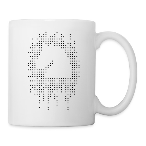 Knight and Dots Inverted - Mug