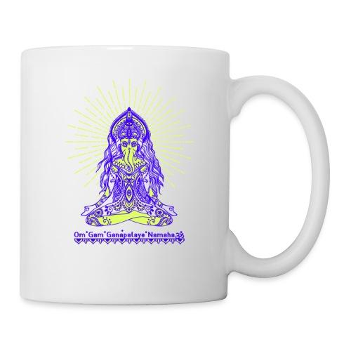 Yogafashion Hippie Ganesha dein Glücksgott - Tasse