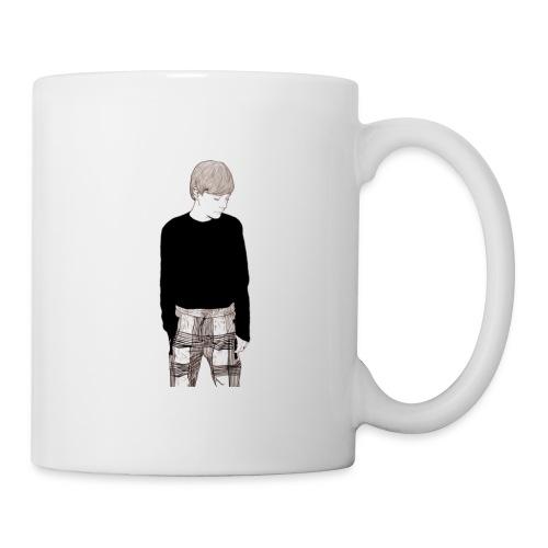LT silhouette print - Mug