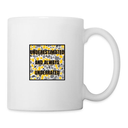 we made it lyrics block print - Mug