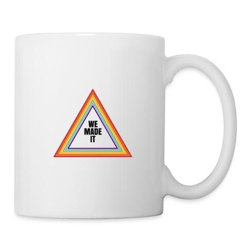 we made it triangle - Mug