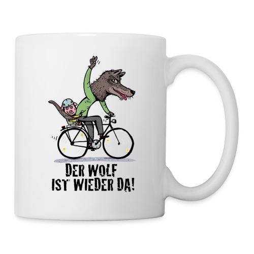 Wolf und Schweinchen - Tasse