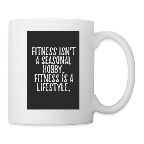 FITNESS IS A LIFESTYLE - Kop/krus
