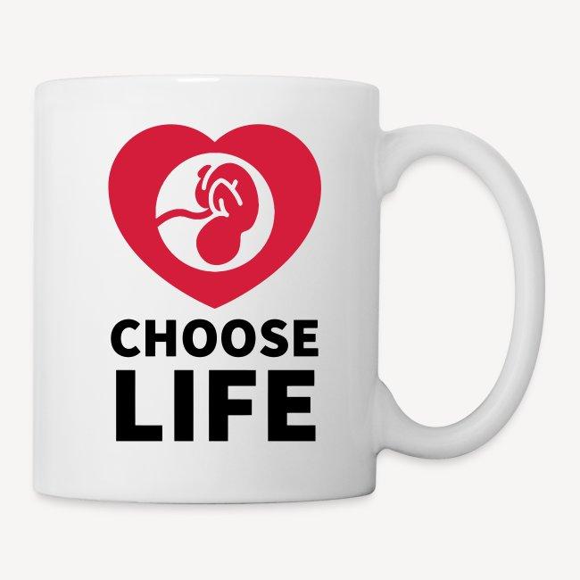 MUG - CHOOSE LIFE