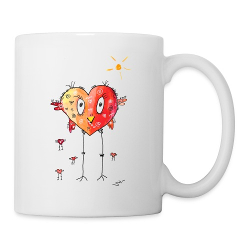 Happy heart - Tasse