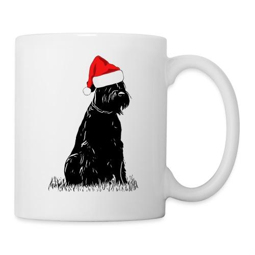Riesenschnauzer Weihnachten Schnauzer Hund - Tasse