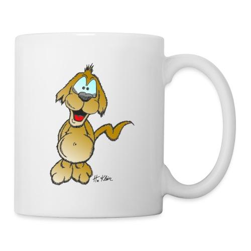 Glücklicher Hund - Tasse