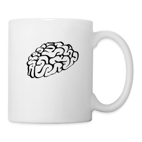 Brain gemaked von Brainmaker Copy png - Tasse