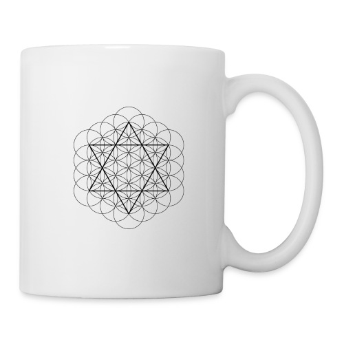 Flower of life and David Star - Kop/krus