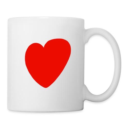 Herz - Tasse