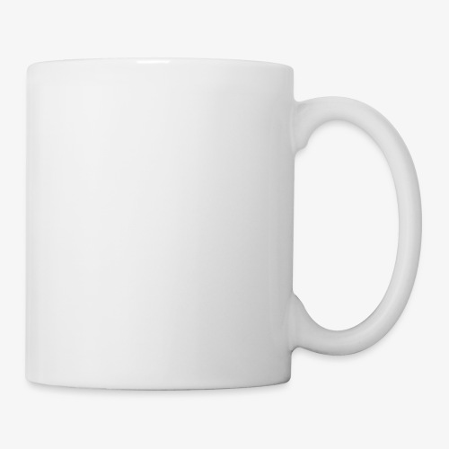 logo round w - Mug