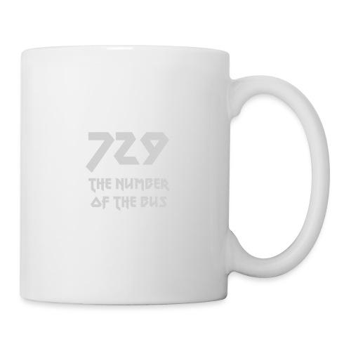 729 grande grigio - Tazza