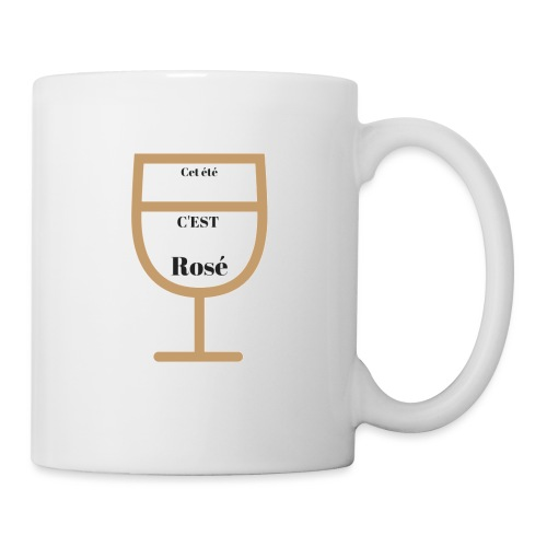 Cet été c'est rosé - Mug blanc