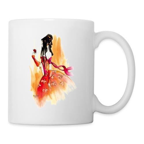 madame butterfly - Mug blanc