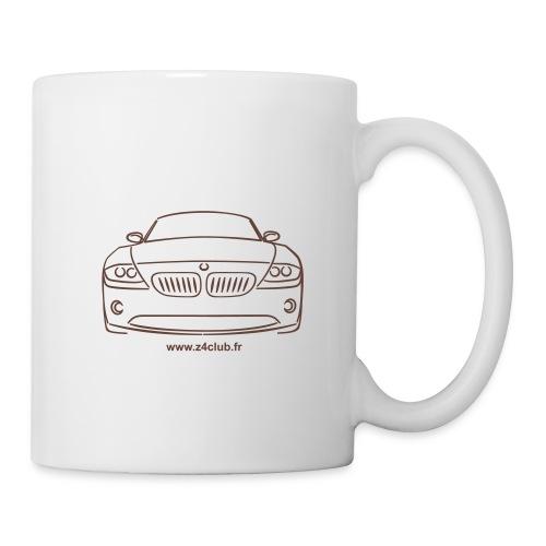Z4 Roadster Face - Mug blanc