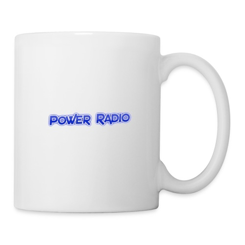 Power Text logo - Mug