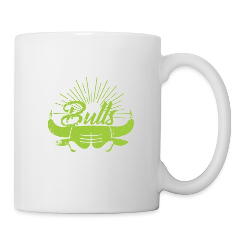 Toros verdes, Bulls BasketBall deporte - Taza