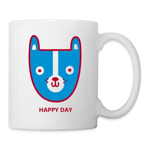 happy day 3 colour - Mug