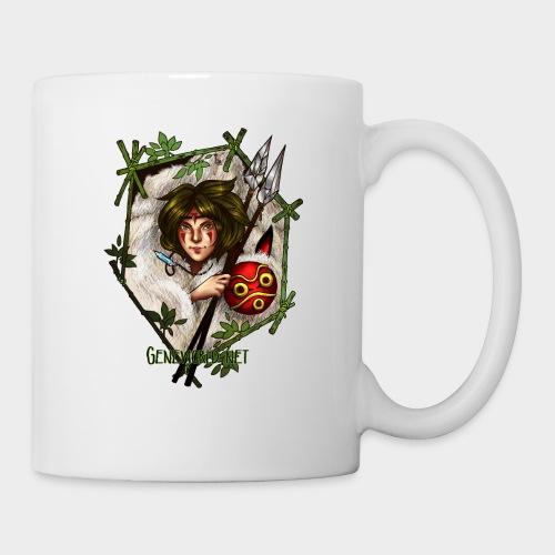 Geneworld - Mononoke - Mug blanc