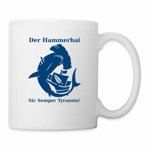 hammerhai blau - Tasse