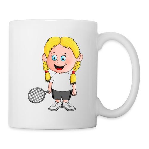 Süße Tennisspielerin - Tasse