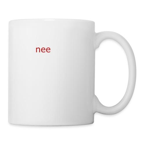 nee t-shirts - Mok