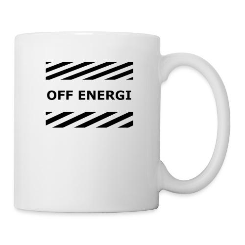 OFF ENERGI officiel merch - Mugg