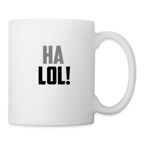 The CrimsonAura 'Ha LOL!' Stream Quote. - Mug