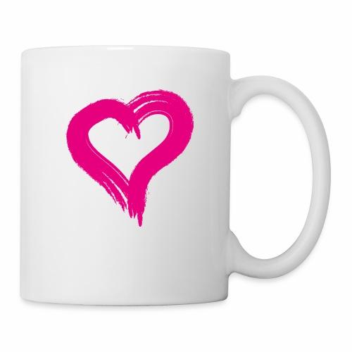 Pink Heart - Mug