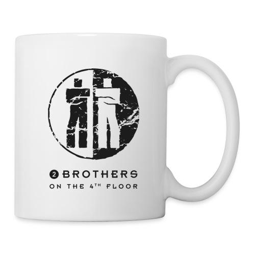 2 Brothers Black text - Mug