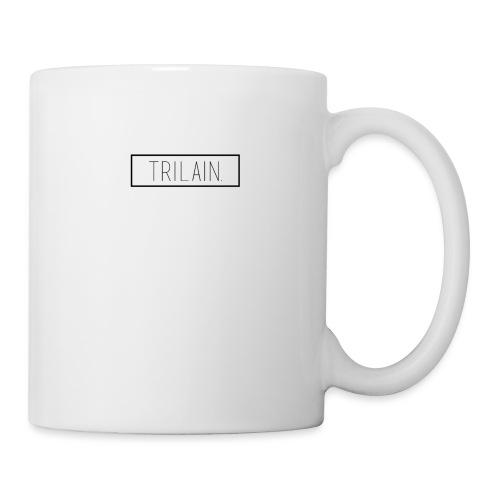 Trilain - Box Logo T - Shirt White - Mok