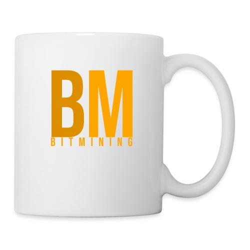 Logo Bitmining - Mug blanc
