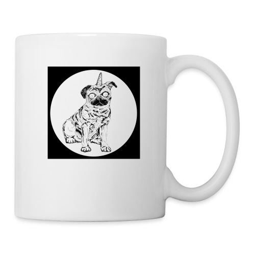 rysunek Pies-Jednorożec - Kubek