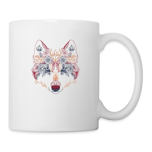 Wolf Wow - Taza