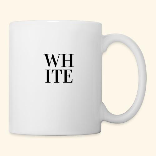 White - Tasse